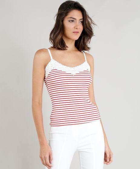 Regata-Feminina-Basica-Listrada-com-Renda-Off-White-9394292-Off_White_1