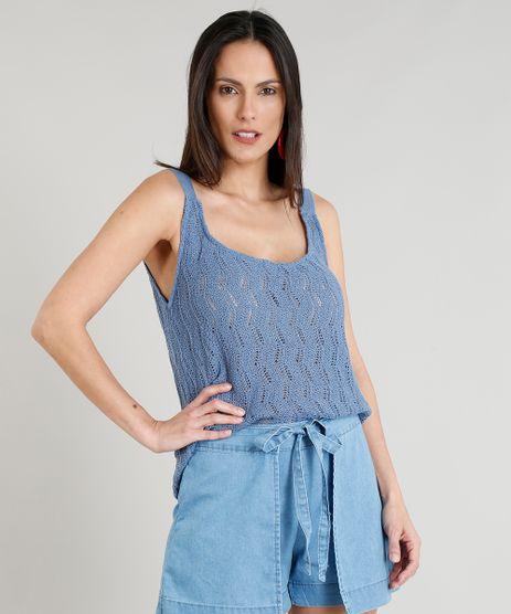 Regata-Feminina-Ampla-em-Croche-Azul-9374783-Azul_1