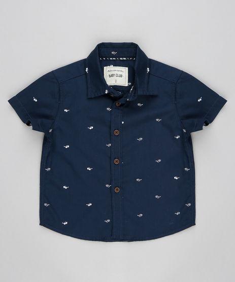 Camisa-Infantil-Estampada-de-Oculos-Manga-Curta-Azul-Marinho-9298273-Azul_Marinho_1