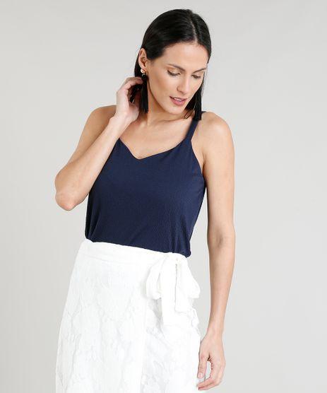 Regata-Feminina-Ampla-Texturizada-Decote-v-Azul-Marinho-9320003-Azul_Marinho_1