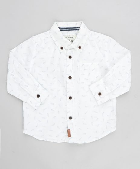 Camisa-Infantil-Estampada-de-Espinha-de-Peixe-Manga-Longa-Branca-9188622-Branco_1