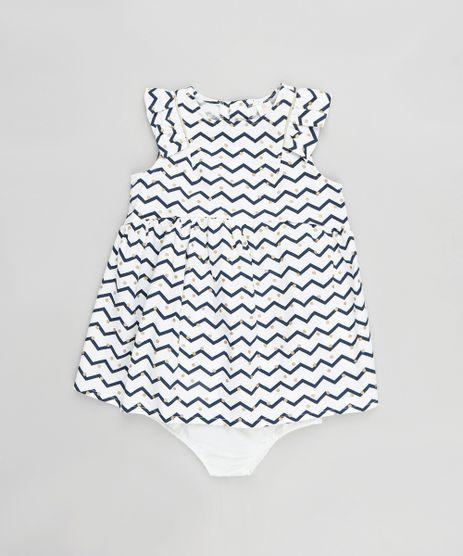 Vestido-Infantil-Estampado-Chevron-com-Babado---Calcinha-Branco-9116666-Branco_1