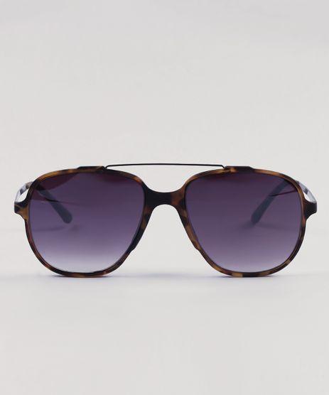 Oculos-de-Sol-Quadrado-Masculino-Oneself-Tartaruga-9430475-Tartaruga_1