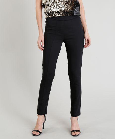 Calca-Skinny-Feminina-com-Ziper-e-Recortes-Preta-9251791-Preto_1