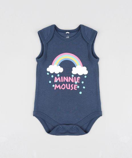 Body-Infantil-Minnie-Arco-Iris-Sem-Manga-Decote-Redondo-Azul-Marinho-9190299-Azul_Marinho_1