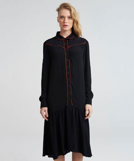 Vestido-Camisa-Feminino-Mindset-com-Vivo-Contrastante-Manga-Longa-Preto-9389670-Preto_1