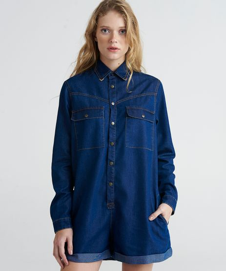 Macaquinho-Jeans-Feminino-Mindset-Manga-Longa-Azul-Escuro-9391047-Azul_Escuro_1