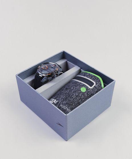 Kit-de-Relogio-Digital-Speedo-Masculino---Porta-Objetos---81111G0EVNP3K-Preto-9399925-Preto_1