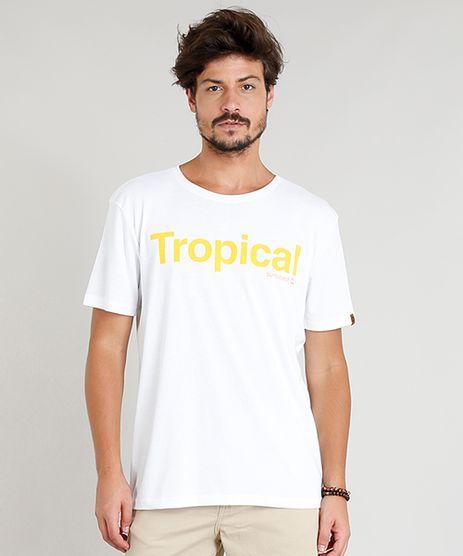 Camiseta-Masculina--Tropical--Manga-Curta-Gola-Careca-Branca-9311583-Branco_1