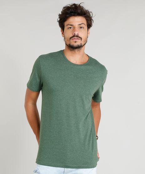 Camiseta-Masculina-Basica-Manga-Curta-Gola-Careca-Verde-Escuro-9278984-Verde_Escuro_1