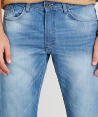c865669151 ... Calca-Jeans-Masculina-Reta-Azul-Claro-9258206-Azul Claro 1