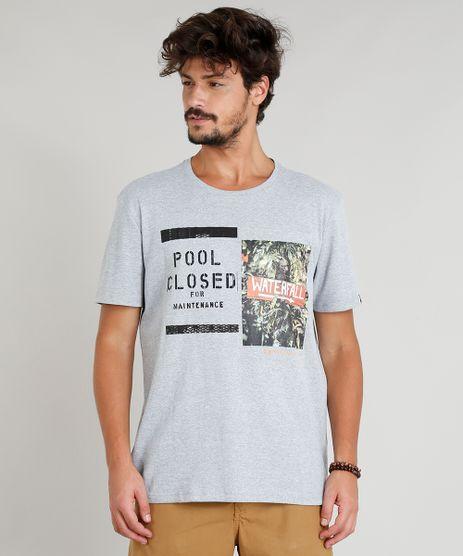 Camiseta-Masculina--Pool-Closed--Manga-Curta-Gola-Careca-Cinza-Mescla-9311582-Cinza_Mescla_1