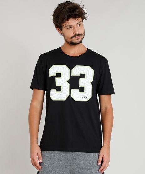Camiseta-Masculina-Esportiva-Ace--33--Manga-Curta-Gola-Careca-Preta-9275036-Preto_1