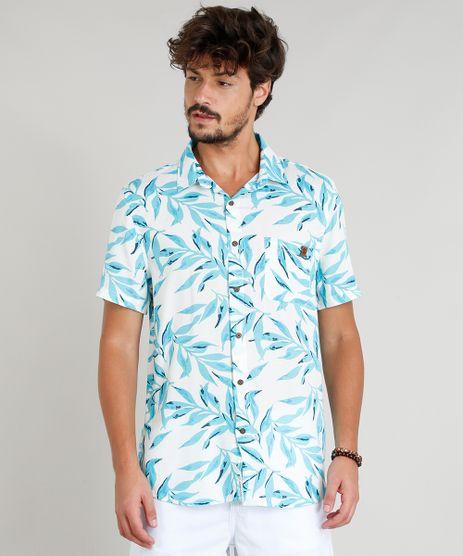 Camisa-Masculina-com-Linho-Estampada-Tropical-Manga-Curta-Off-White-9334911-Off_White_1