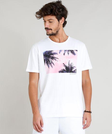 Camiseta-Masculina--Paradise--Manga-Curta-Gola-Careca-Branca-9276506-Branco_1