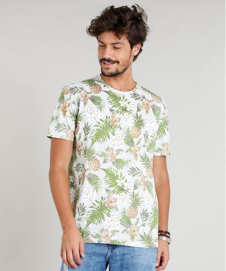 Camiseta-Masculina-Estampada-Tropical-Manga-Curta-Gola-Careca-Cinza-Mescla-9295131-Cinza_Mescla_1