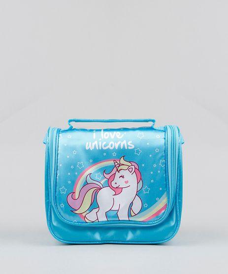 Lancheira-Termica-Escolar-Infantil-Unicornio-Azul-Claro-9235548-Azul_Claro_1