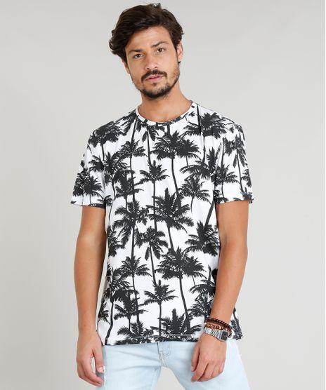 Camiseta-Masculina-Estampada-Coqueiros-Manga-Curta-Gola-Careca-Branca-9314847-Branco_1