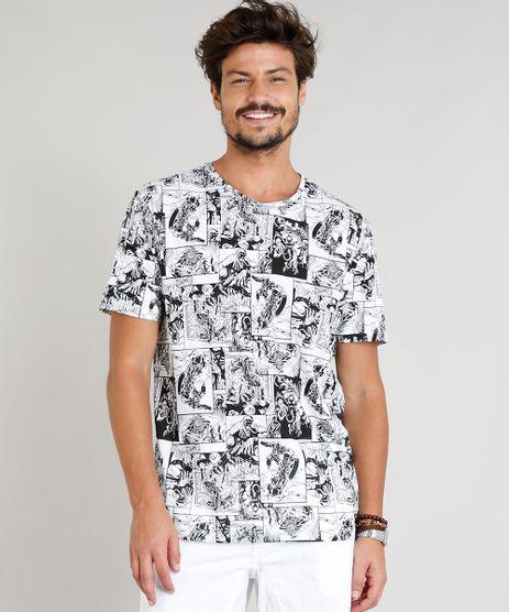 Camiseta-Masculina-Estampada-Venom-Manga-Curta-Gola-Careca-Branca-9306838-Branco_1