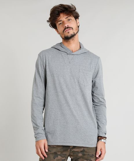 Camiseta-Masculina-Flame-com-Capuz-e-Bolso-Manga-Longa-Cinza-Mescla-Escuro-9248982-Cinza_Mescla_Escuro_1