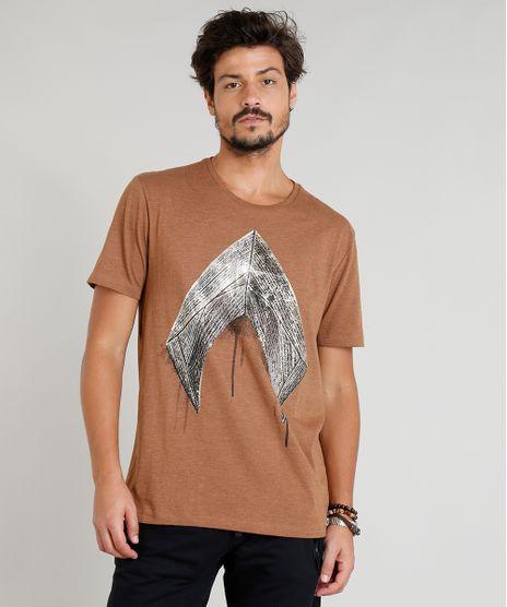 Camiseta-Masculina-Aquaman-Manga-Curta-Gola-Careca-Marrom-9277731-Marrom_1