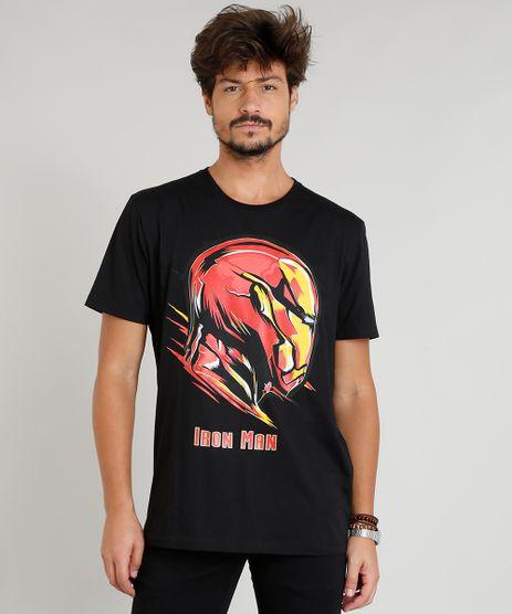 Camiseta-Masculina-Homem-de-Ferro-Manga-Curta-Gola-Careca-Preta-9277751-Preto_1