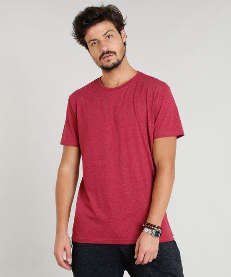 Camiseta-Masculina-Basica-Manga-Curta-Gola-Careca-Vinho-9278984-Vinho_1