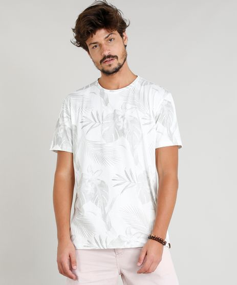 Camiseta-Masculina-Estampada-Tropical-Manga-Curta-Gola-Careca-Off-White-9331532-Off_White_1
