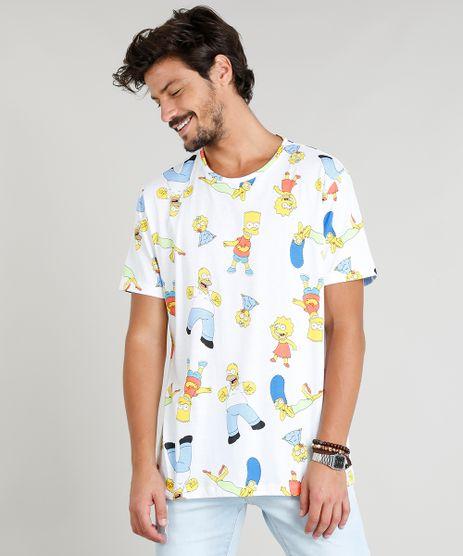 Camiseta-Masculina-Estampada-Os-Simpsons-Manga-Curta-Gola-Careca-Branca-9277734-Branco_1