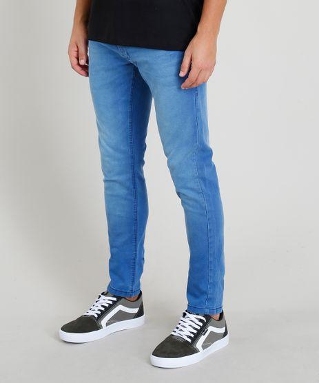 3b4fec3f74 Calca-Jeans-Masculina-Slim-Azul-Claro-9202694-Azul Claro 1
