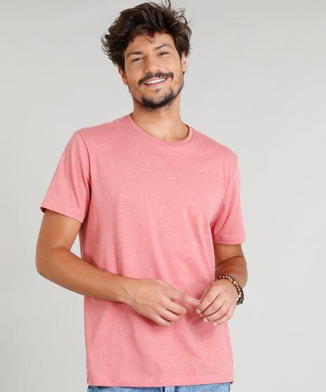 Camiseta-Masculina-Basica-Manga-Curta-Gola-Careca-Coral-9278984-Coral_1