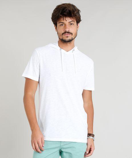 Camiseta-Masculina-Flame-com-Capuz-Manga-Curta-Branca-9248984-Branco_1