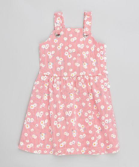 Vestido-Infantil-Evase-Listrado-com-Flores-e-Laco-Vermelho-9199210-Vermelho_1