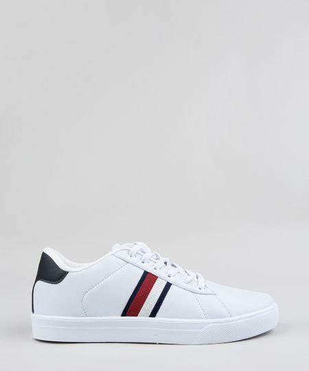 5d2bc4d07 Tênis Masculino Ollie Jeans com Recorte Preto | Menor preço com cupom