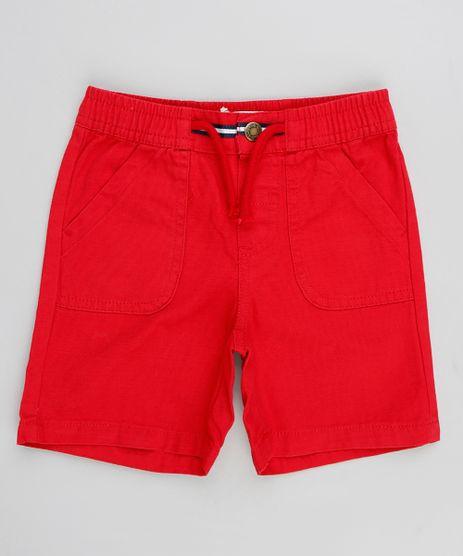 Bermuda-Infantil-com-Cordao-Vermelho-9236831-Vermelho_1