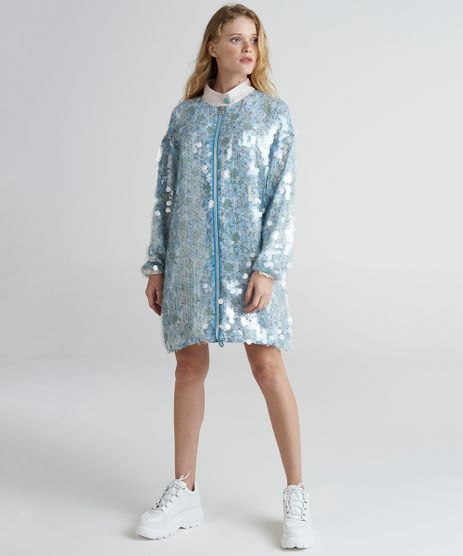 Jaqueta-Longa-Feminina-Mindset-com-Paetes-Transparentes-Estampada-Floral-Azul-Claro-9385669-Azul_Claro_1