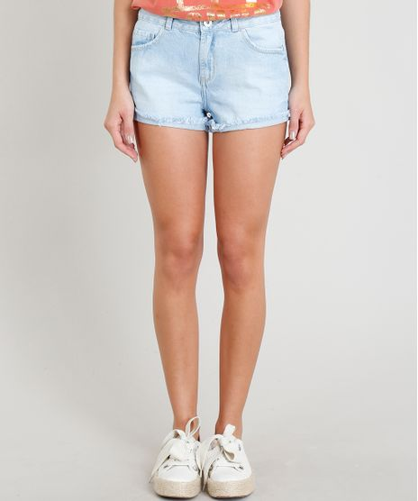 Short-Jeans-Feminino-Boy-Barra-Dobrada-Azul-Claro-9374731-Azul_Claro_1