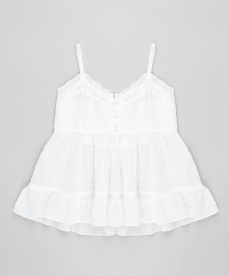 Regata-Infantil-com-Laise-e-Babado-Decote-V-Branca-9174581-Branco_1