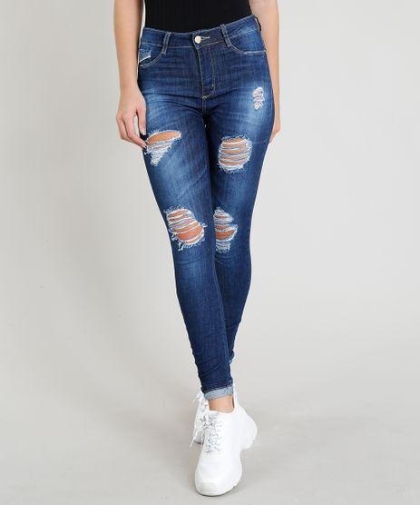 Calca-Jeans-Feminina-Sawary-Cigarrete-Destroyed-Azul-Escuro-9368337-Azul_Escuro_1