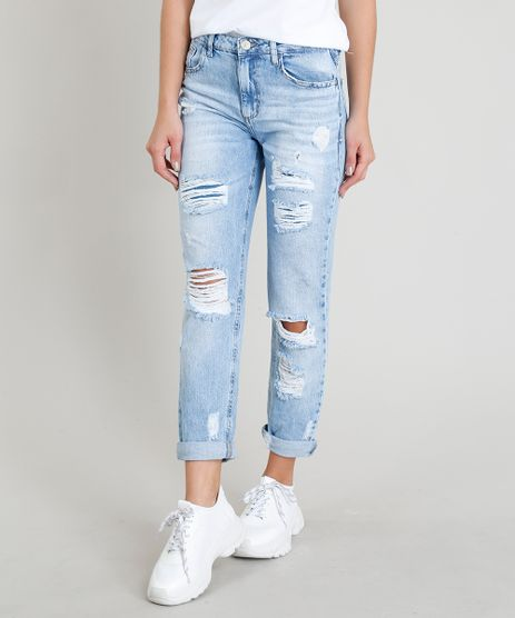 Calca-Jeans-Feminina-Mom-Pants-Destroyed-Azul-Claro-9346366-Azul_Claro_1