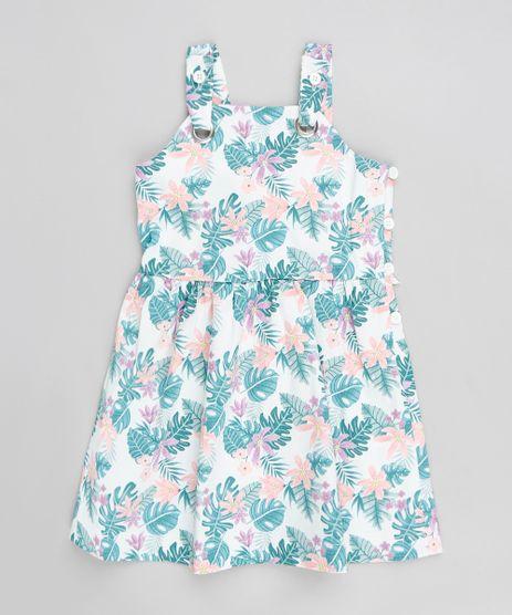 Vestido-Infantil-Evase-Estampado-Floral-com-Laco-Off-White-9199211-Off_White_1