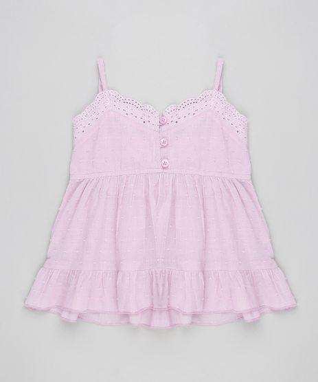 Regata-Infantil-com-Laise-e-Babado-Decote-V-Lilas-9174584-Lilas_1