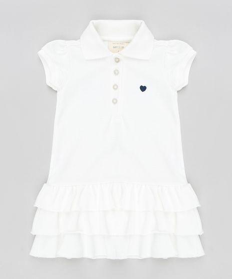 Vestido-Polo-Infantil-com-Babados-em-Piquet-Manga-Curta-Off-White-9259827-Off_White_1