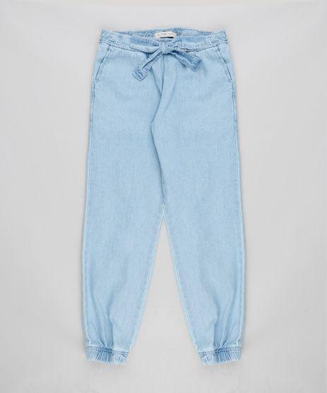 Calca-Clochard-Jeans-Infantil-com-Laco-Azul-Claro-9368844-Azul_Claro_1