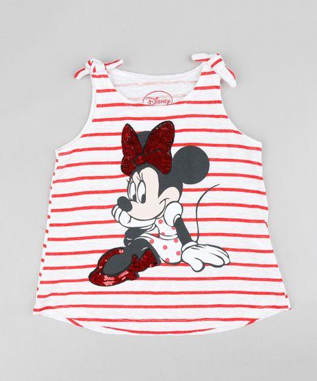 Regata-Infantil-Listrada-Minnie-com-Paete-Dupla-Face-Decote-Redondo-Branca-9350037-Branco_1