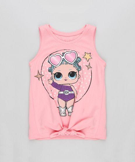 Regata-Infantil-LOL-Surprise-com-No-Decote-Redondo-Rosa-9297080-Rosa_1