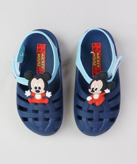 Sandalia-Infantil-Mickey-com-Velcro-Azul-Escuro-9363647-Azul_Escuro_1