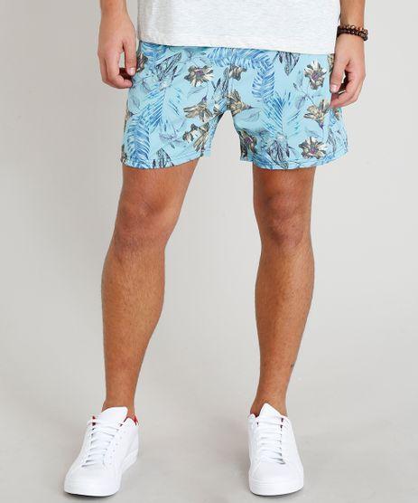 Short-Masculino-Estampado-Floral-com-Bolsos-Azul-Claro-9308699-Azul_Claro_1