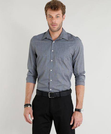 Camisa-Masculina-Comfort-Manga-Longa-Chumbo-9246942-Chumbo_1