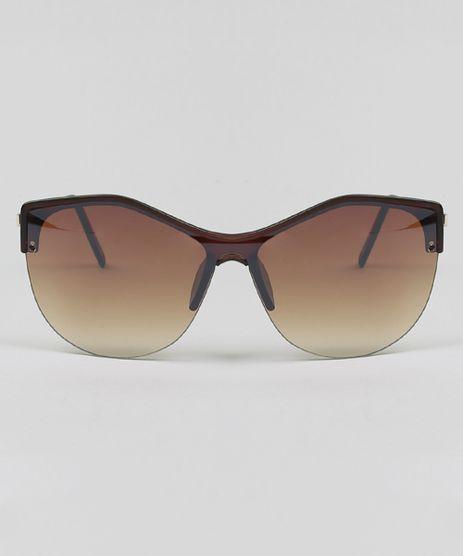 ef1c5eb956ca2 Oculos-de-Sol-Gatinho-Feminino-Oneself-Marrom-Escuro-